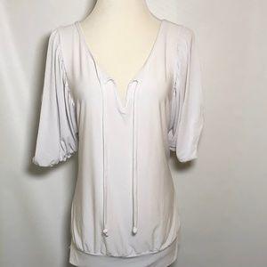 Ashley Stewart Size 18/20 Woman's Shirt White